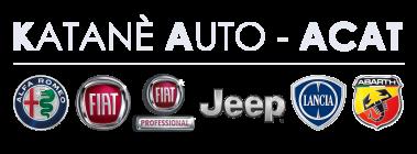 logo Katanè Auto ACAT bianco